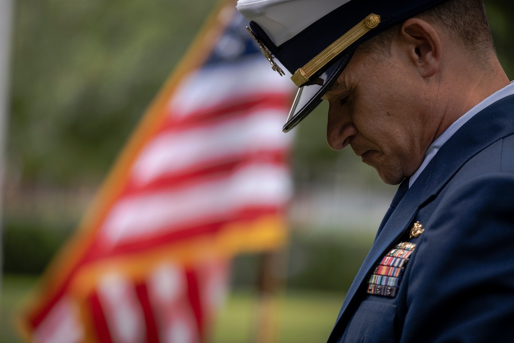 Coast Guard members attend 9/11 Remembrance Ceremony