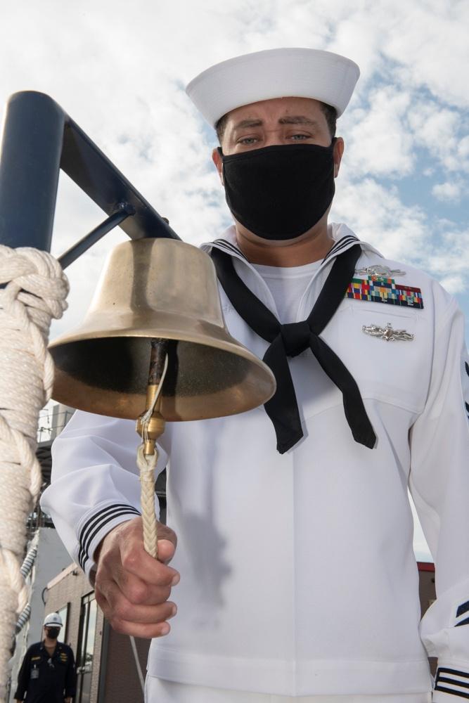 USS Blue Ridge Remembers 9/11