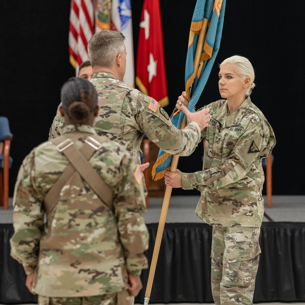Camp Blanding Change of Command Ceremony