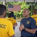 Navy Sailors drill with USNSCC Ft. McHenry Division