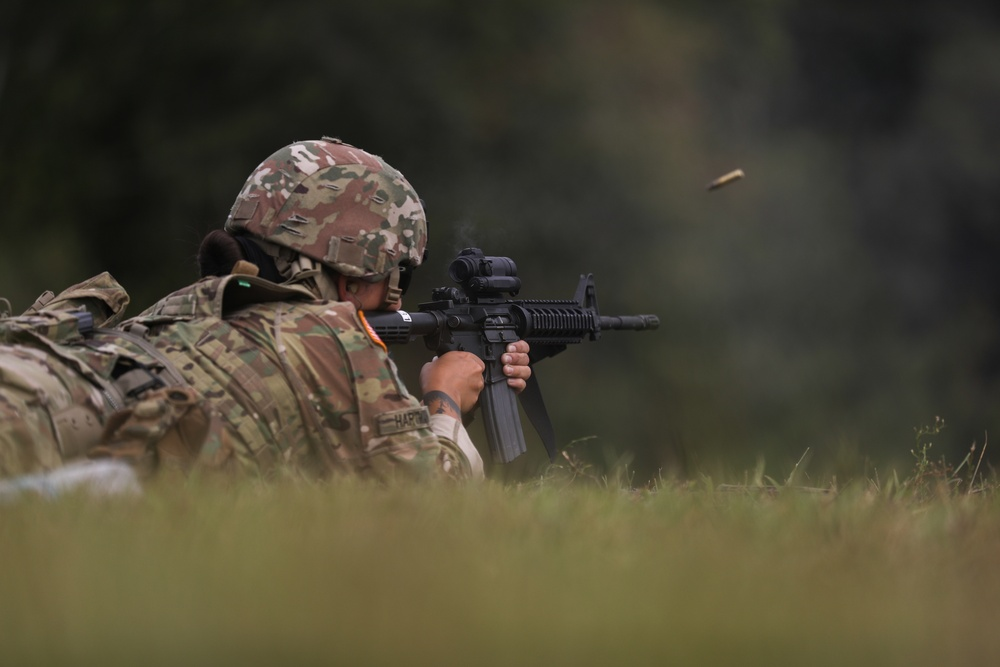 3rd Battalion 265th Air Defense Artillery Soldier competes in annual Florida National Guard TAG Match