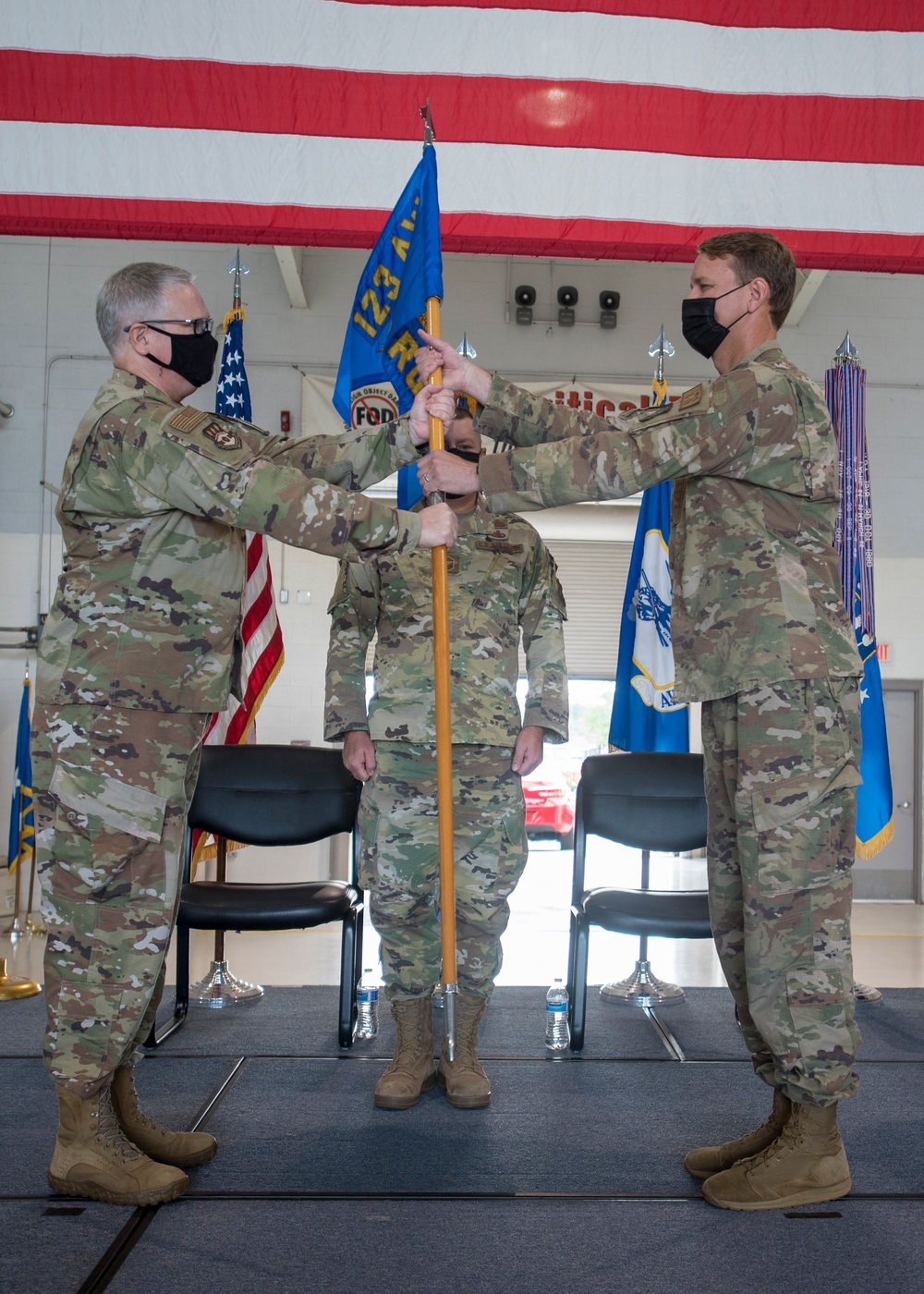 Adams assumes command of 123rd Contingency Response Group
