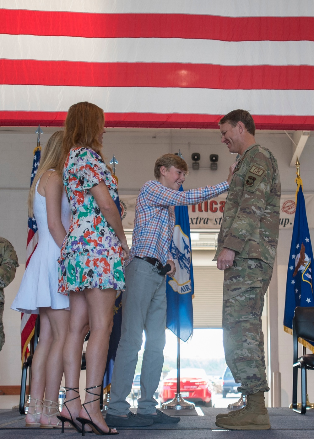 Adams promoted to Colonel
