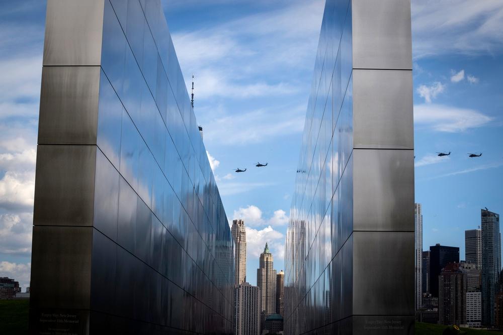 Black Hawks over Empty Sky