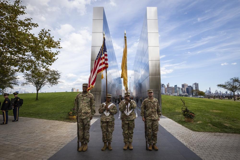 NJ Citizen-Soldiers participate in Empty Sky Memorial Remembrance Ceremony