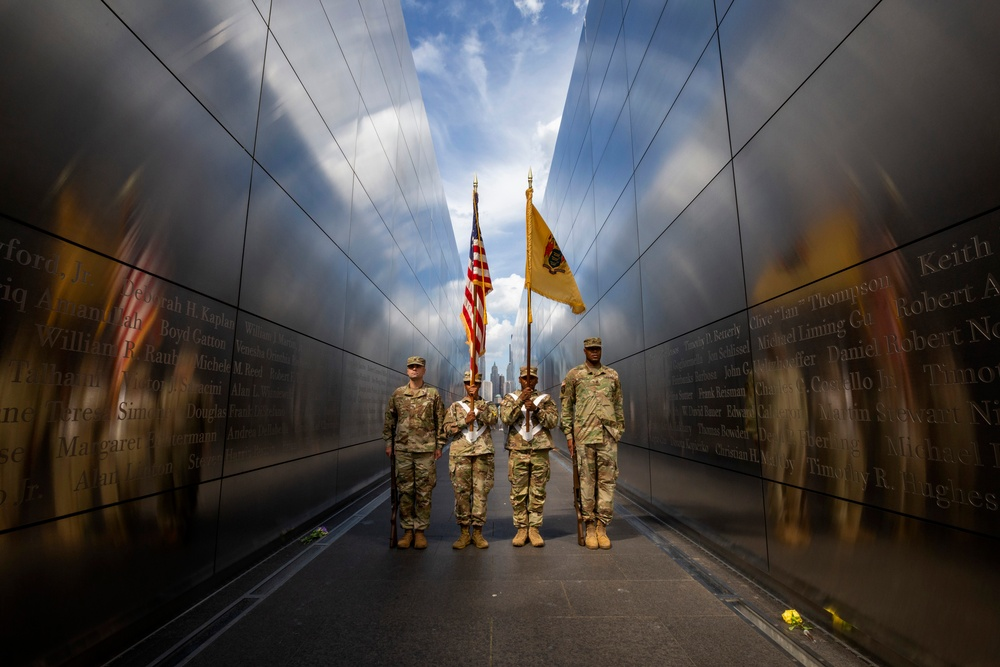 NJ Citizen-Soldiers at Empty Sky Memorial Remembrance Ceremony