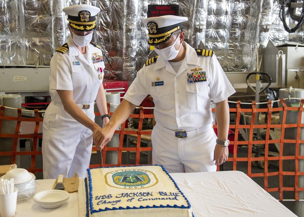 USS Jackson (LCS 6) Change of Command