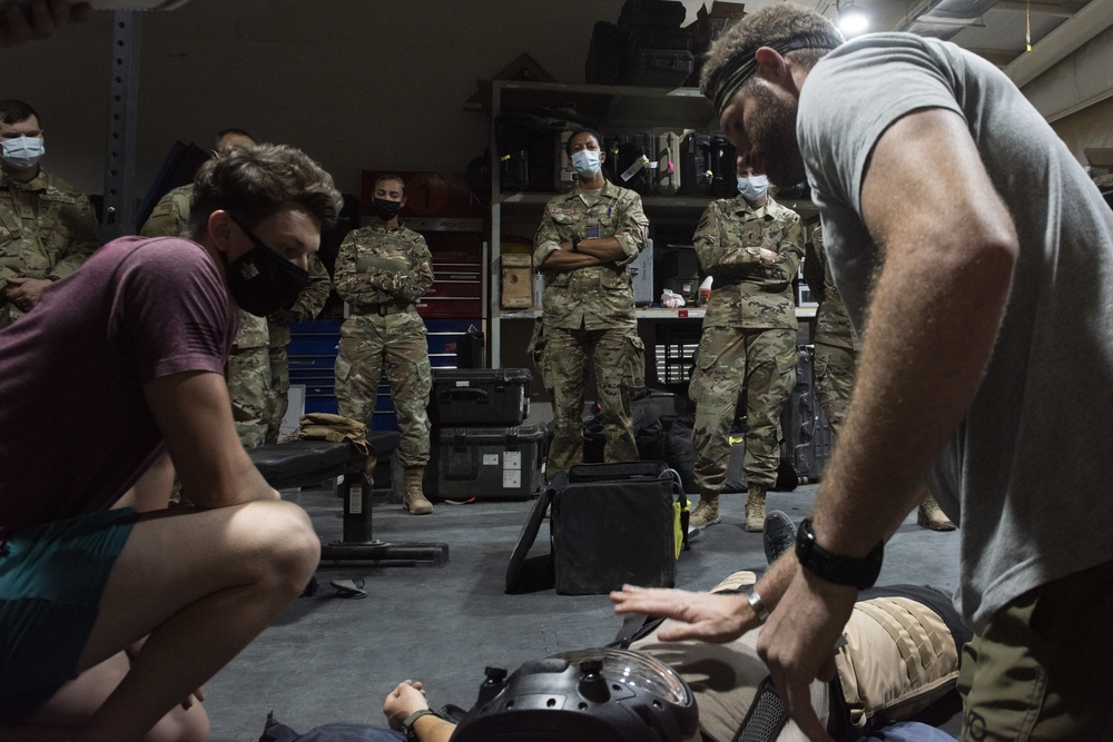 EOD suits up for coalition training