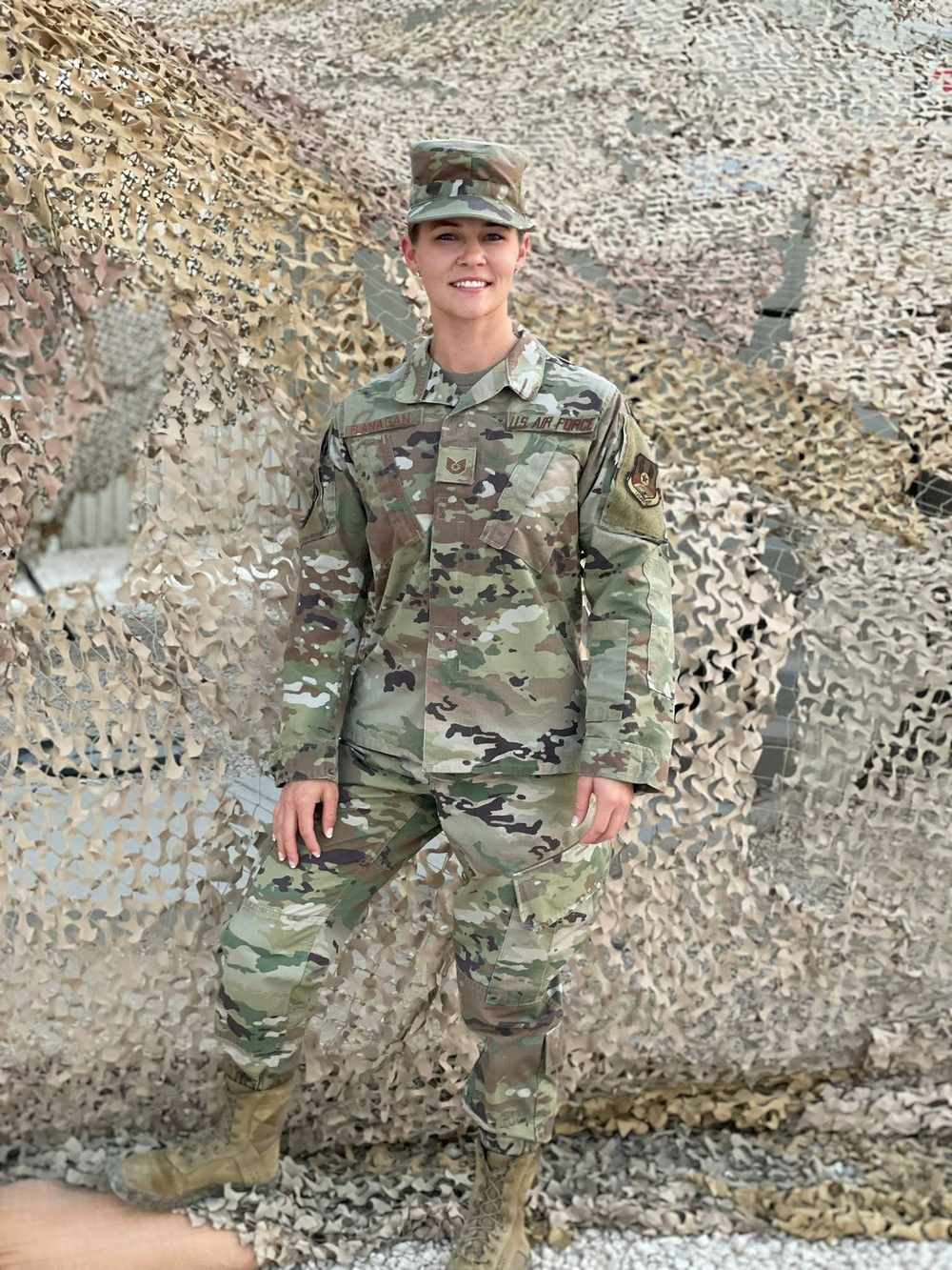 Airman forward deploys to assist with noncombatant evacuation operations