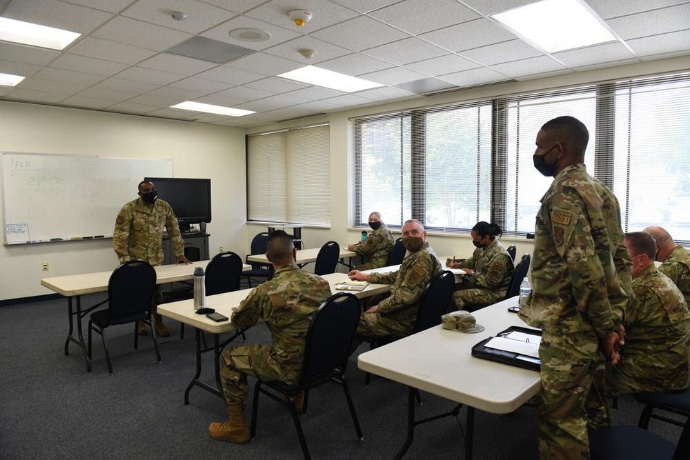 North Carolina Army and Air National Guard Medical Technicians Set Up COVID-19 Medical Support Shelter