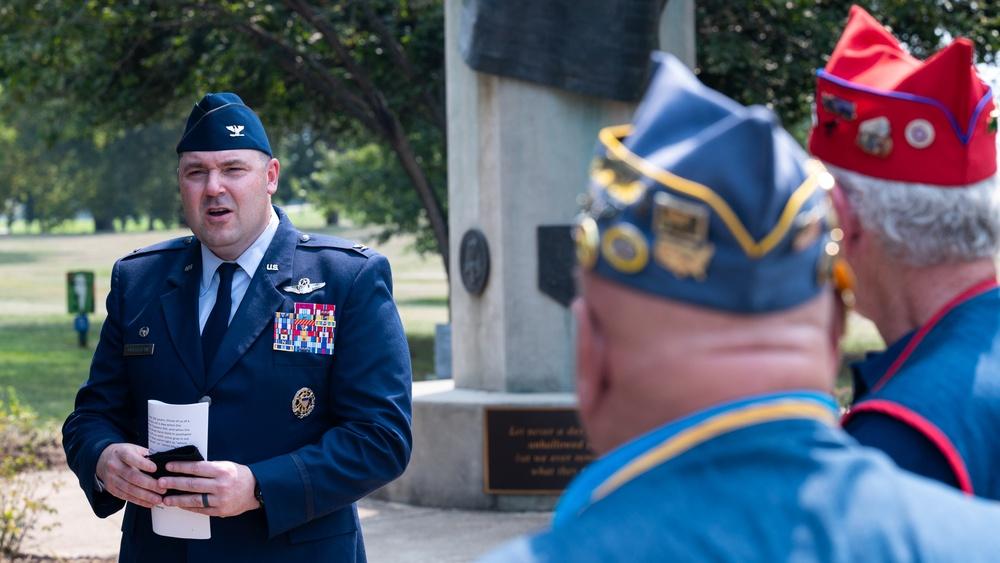 Barksdale commander attends a 9/11 remembrance ceremony