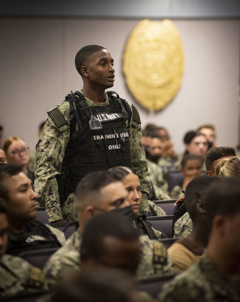 MCPON's Master-at-Arms Schoolhouse Visit