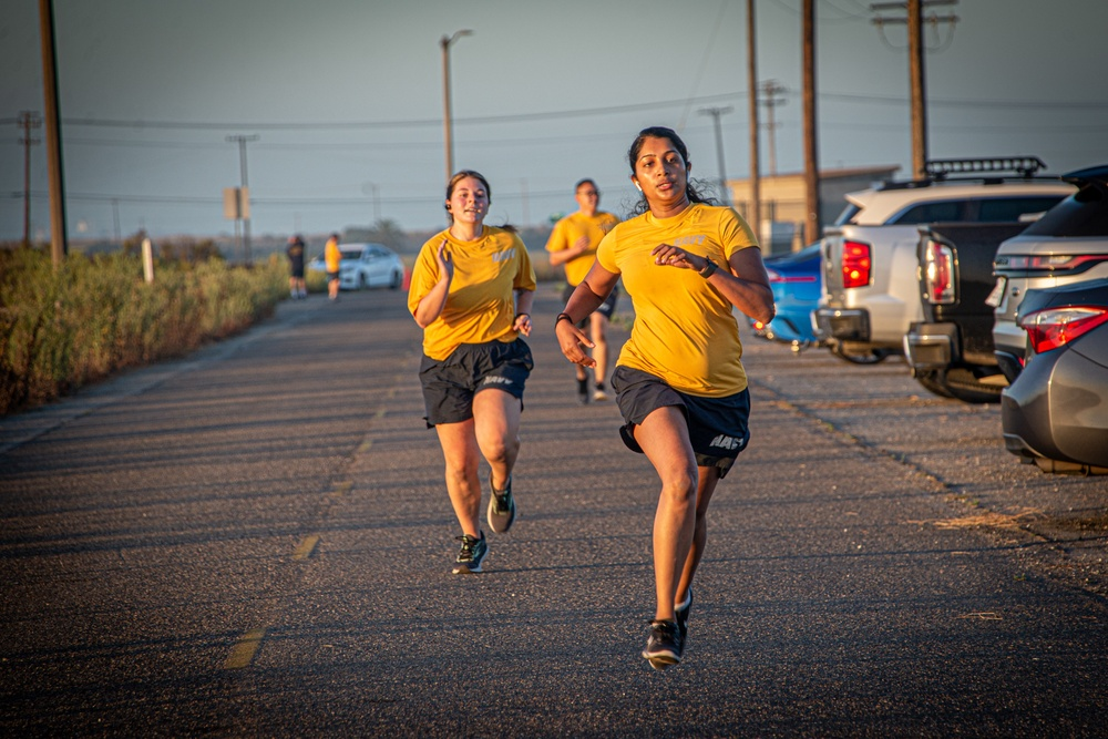 MSRON 11 Officially Resumes Physical Fitness Assessment during DWE held onboard NWS Seal Beach