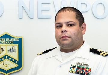 Vega Baja, Puerto Rico Native Supports the Navy Officer Development Team