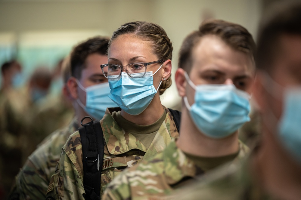 Kentucky Air Guard supporting fight against COVID at Louisville hospitals