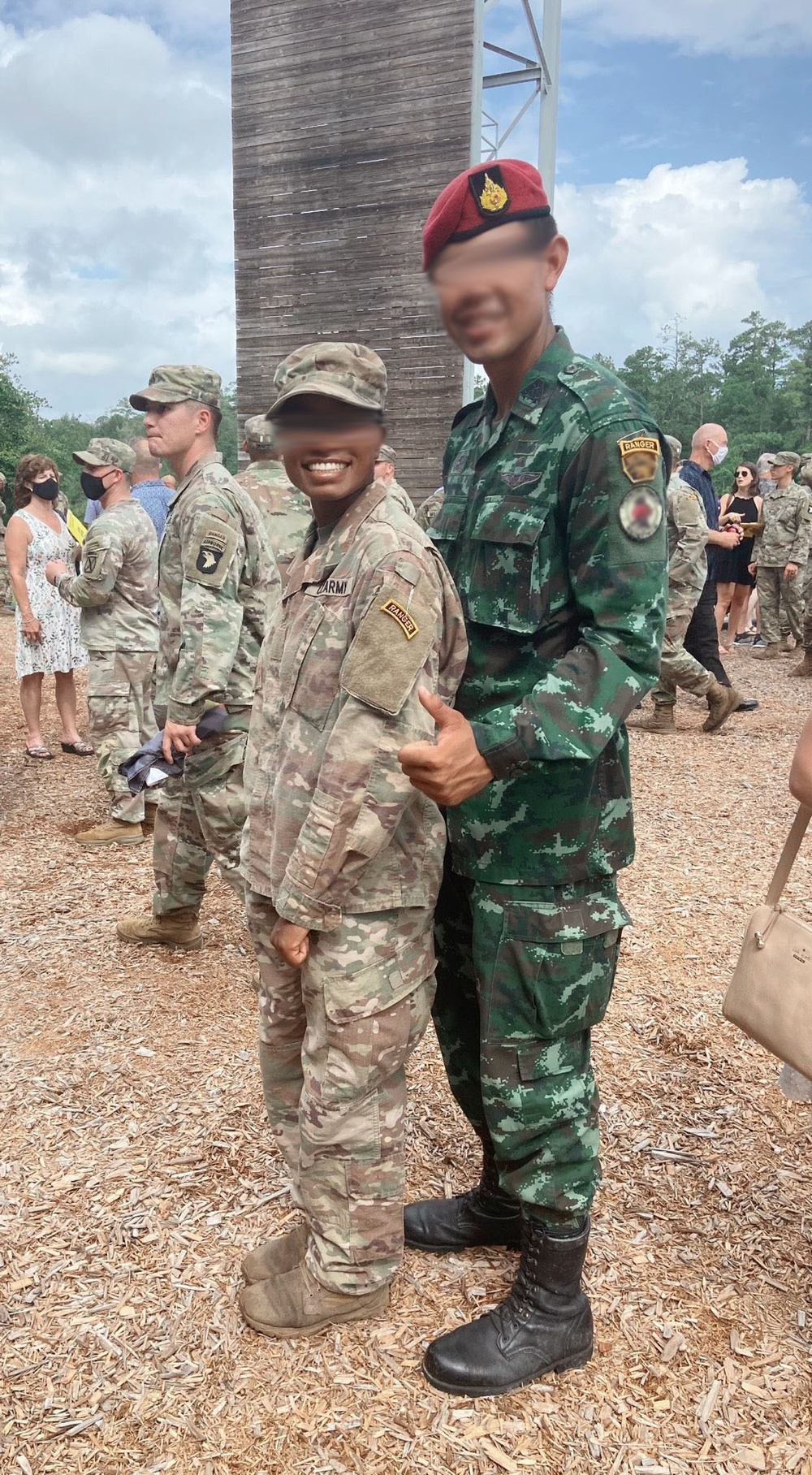 First female with 1st Special Forces Group (Airborne) rejects failure, graduates U.S. Army Ranger School