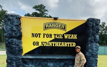 First female with 1st Special Forces Group (Airborne) rejects failure,  graduates U.S. Army Ranger School [Image 3 of 3]