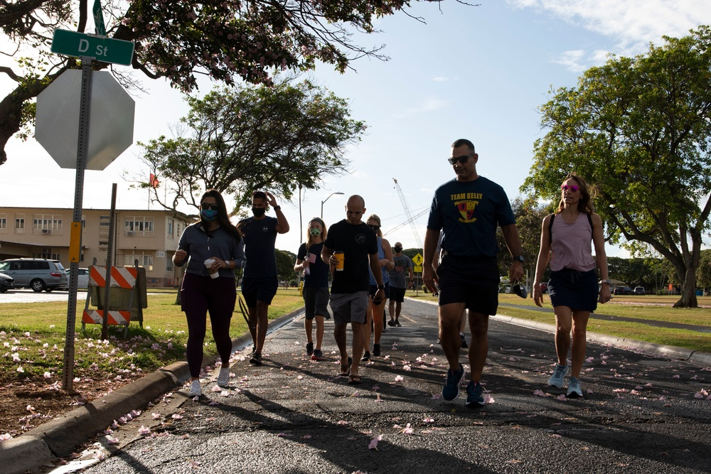 MCBH holds 9/11 Remembrance Walk