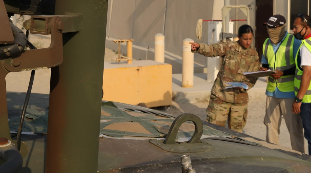 401st Army Field Support Brigade provides post-HKIA retrograde support