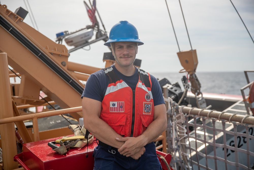 Faces of Escanaba: Seaman Christopher Krotz