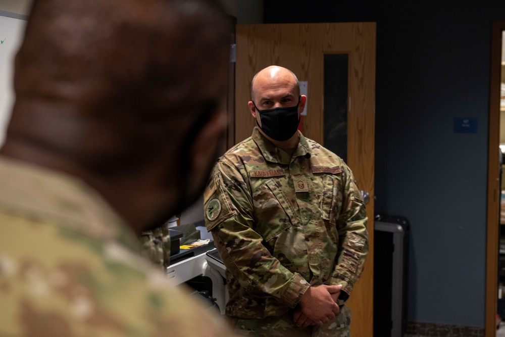 ANG Command Chief visits the 120th Airlift Wing