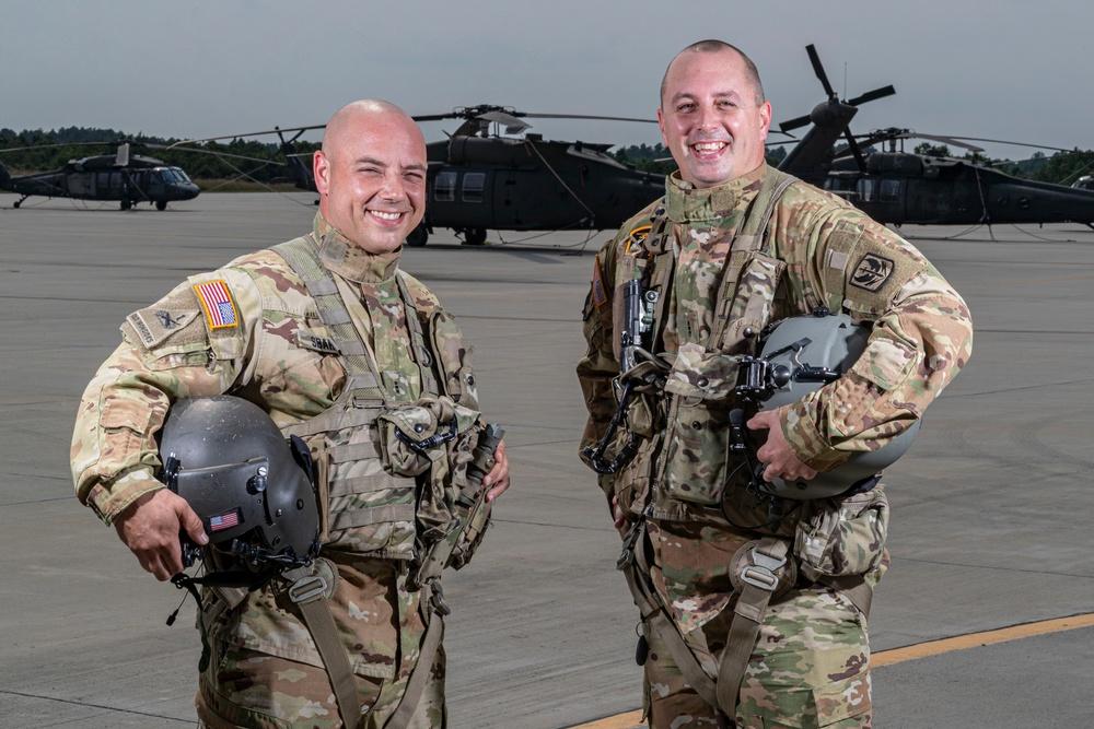 NJ National Guard Soldiers Rescue Nine Stranded Motorists In Wake of Hurricane Ida