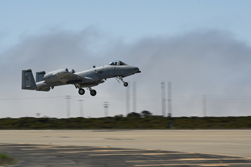 """Vandenberg supports A-10 """"Warthogs"""" for Search and Rescue Exercise"""