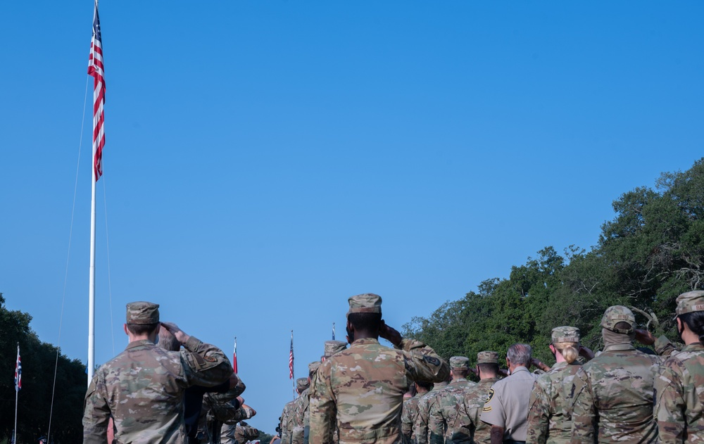 Barksdale hosts ceremony remembering those who gave their lives on 9/11