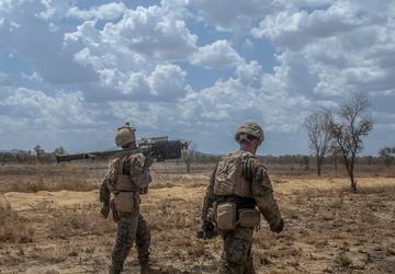 MRF-D 2nd LAAD platoon fire stinger missiles
