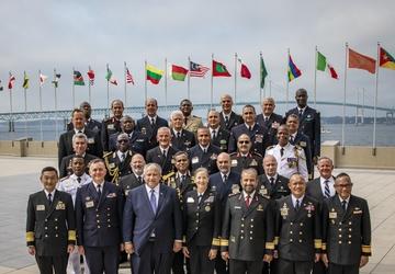 International Seapower Symposium U.S. Naval War College Alumni Photo