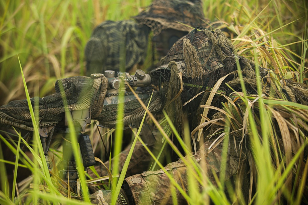 Indo-Pacific Armies Chief's Conference: Snipers