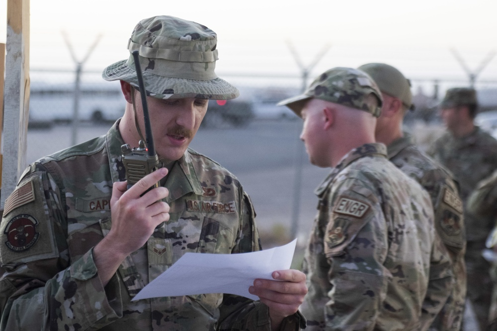 Civil Engineers ensure gateway stays open with RADR exercise