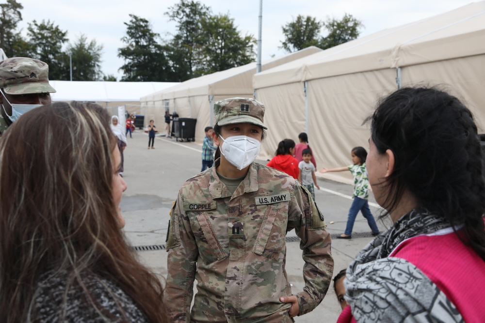21st TSC Female Engagement Team is Here to Help During Operation Allies Welcome