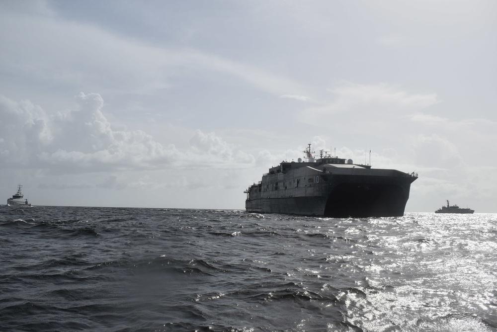 Burlington Conducts Maritime Interdiction Exercise
