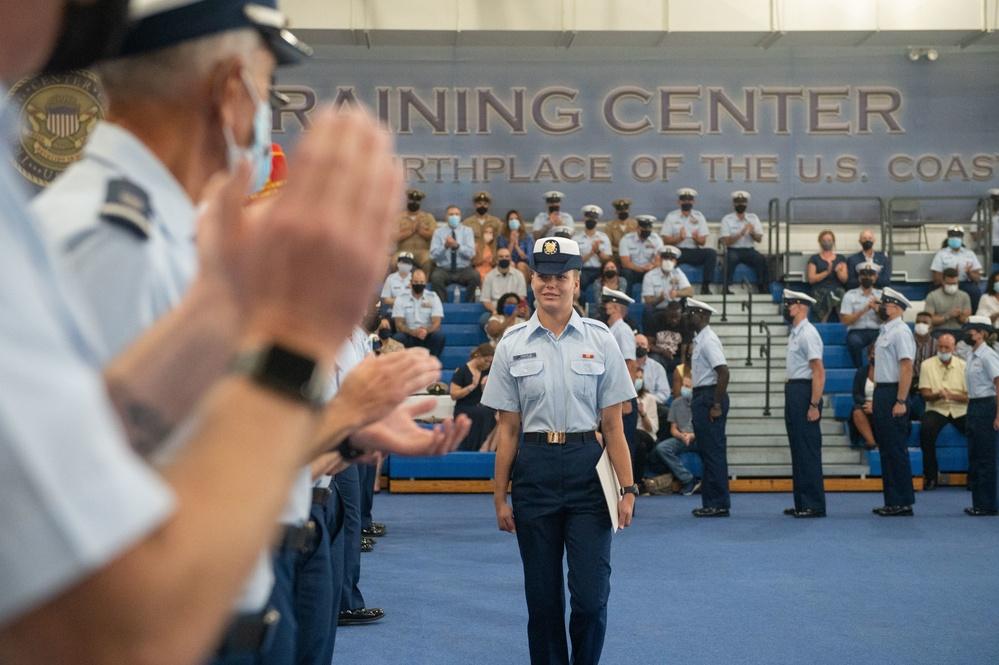 Recruits from Bravo-201 graduate Coast Guard boot camp
