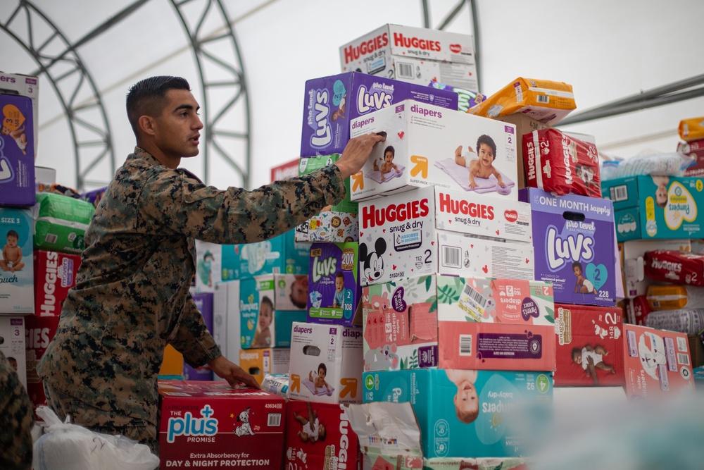 Marines Keep Upshur Village Stocked