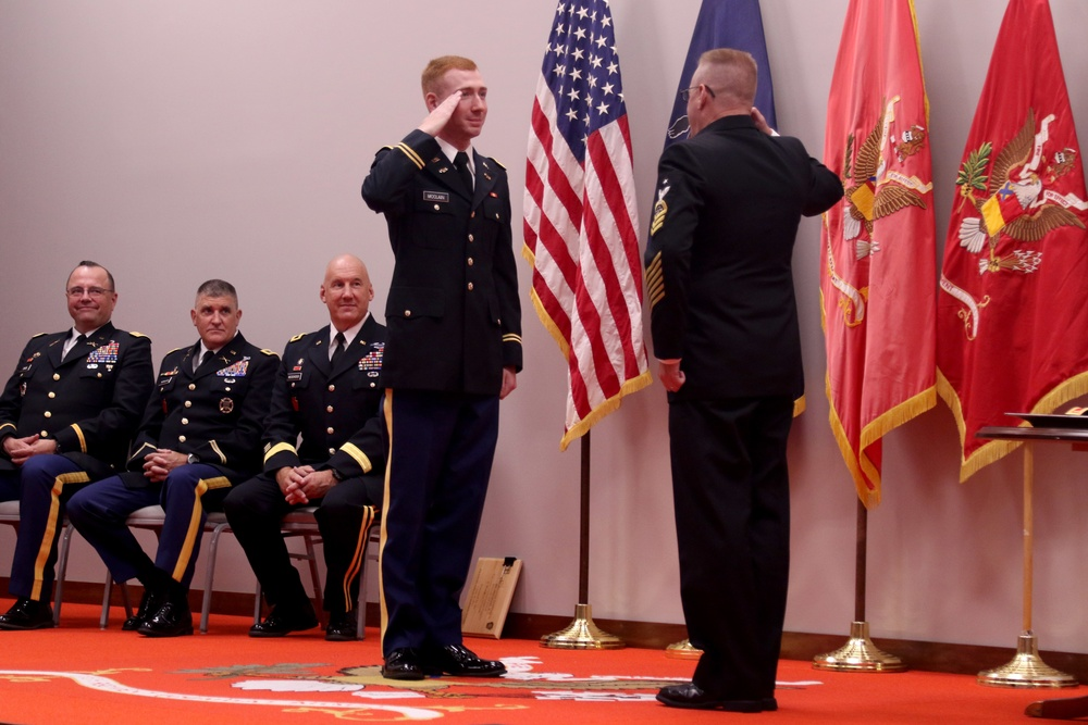 Pa. National Guard officer candidates earn commission