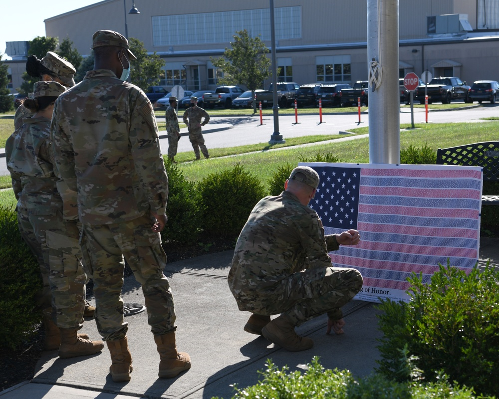 106th Rescue Wing honors 9/11 victims