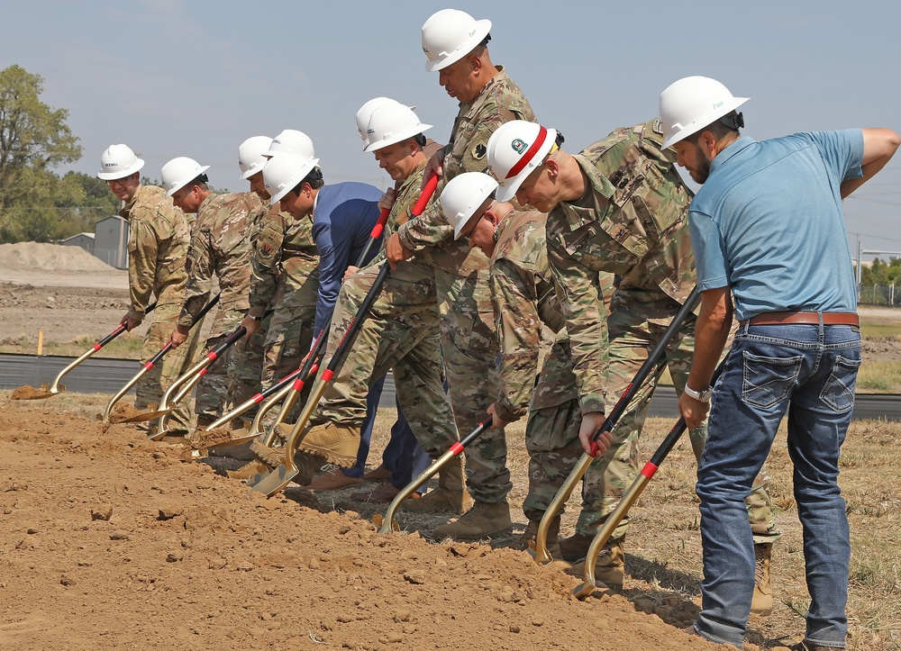 Fuel storage project breaks ground at Tulsa ANG Base