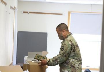 Task Force McCoy Accepts Quran Donation