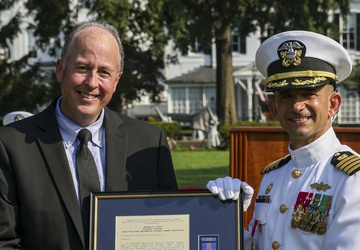 Booth Received Second Meritorious Civilian Service Award