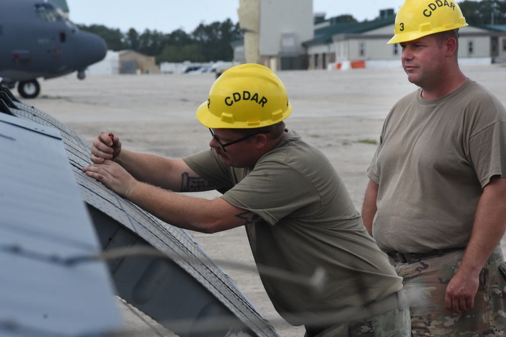 106th Rescue Wing gets a new gate guardian