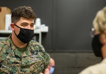 Naval Medical Forces Support Command Commander Tours Upshur Village