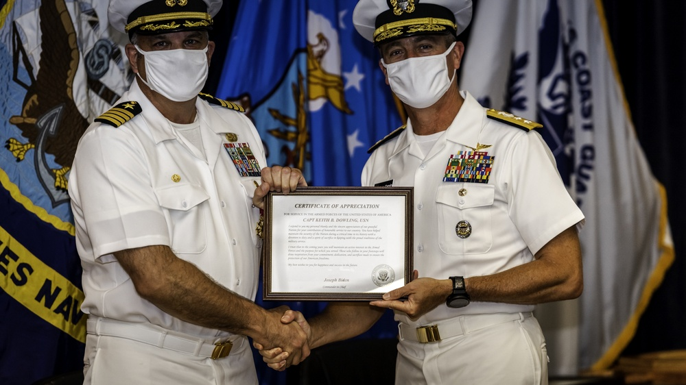 CEODD Change of Command