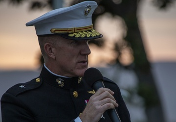 Camp Pendleton hosts 79th annual Evening Colors Ceremony