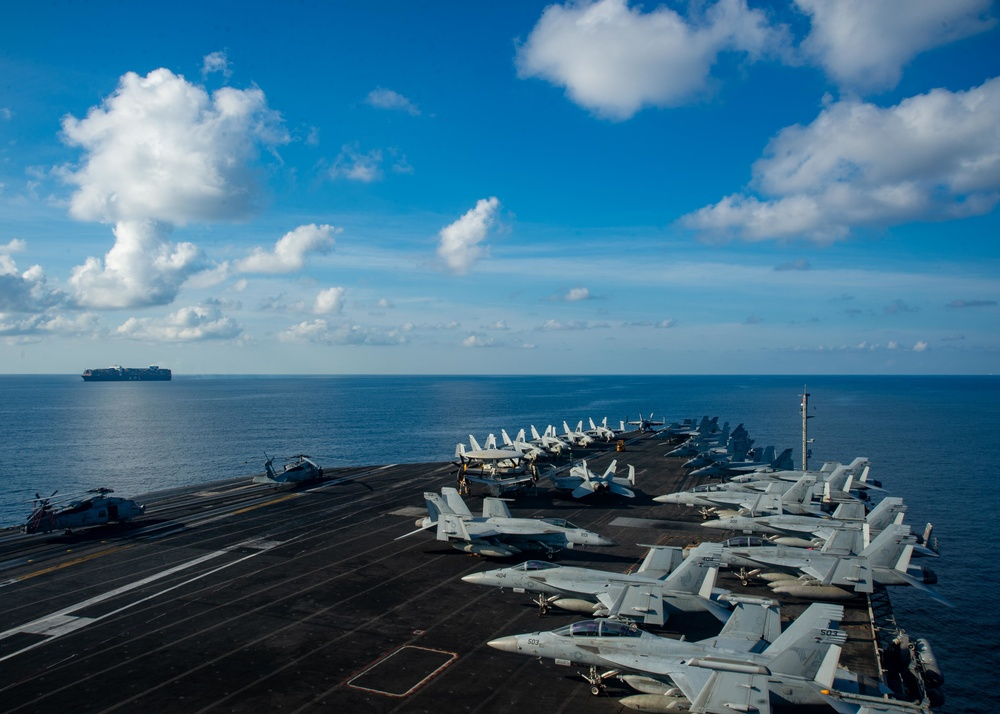 Ronald Reagan Carrier Strike Group Returns to the South China Sea