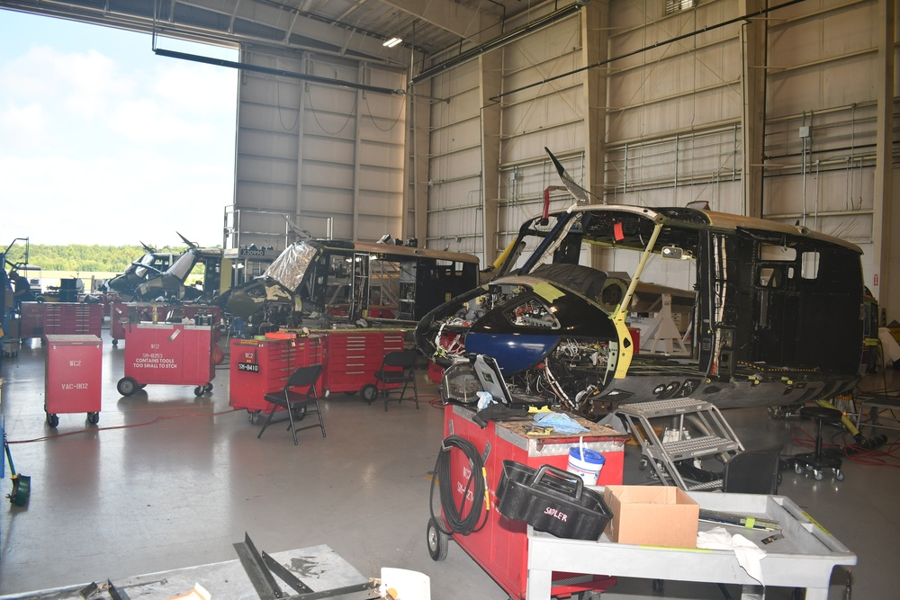 """FRCE Kinston operation completes first UH-1N """"Huey"""" repair"""
