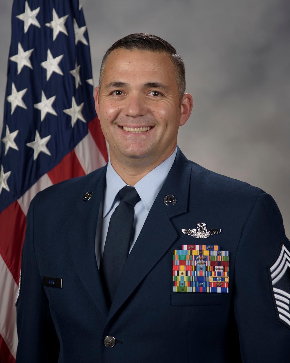 Chief Master Sgt. Douglas Kuhn