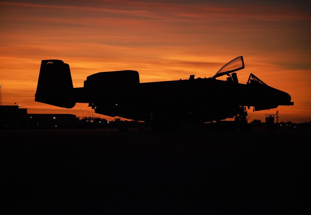 Idaho National Guard conducts night training operations