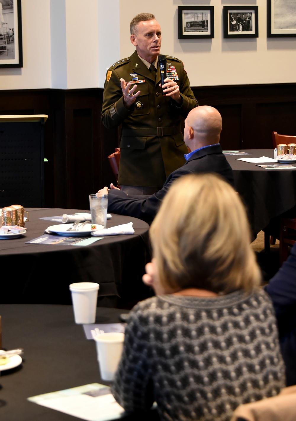 SMDC commander addresses AUSA breakfast